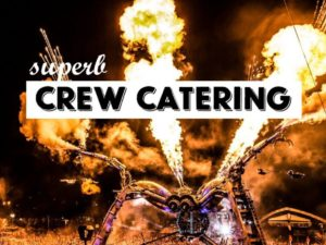 Crew catering and Unique Travelling Café on the British Festival Circuit